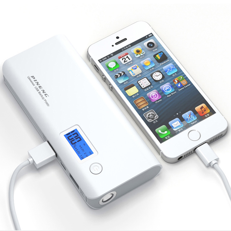 10000mah Power Bank Dual USB Mobile Charger External Battery Pack portable charger powerbank For Phone