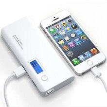 10000 мАч Power Bank Dual USB Зарядное Устройство Внешний Аккумулятор портативное зарядное устройство powerbank Для Телефона