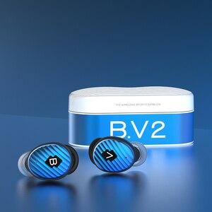 Image 4 - TFZ/ B.V2 TWS Ture Drahtlose Kopfhörer Bluetooth 5,0 Mit Lade Fall, 3D Stereo Sound Kopfhörer mit Dual Mikrofon