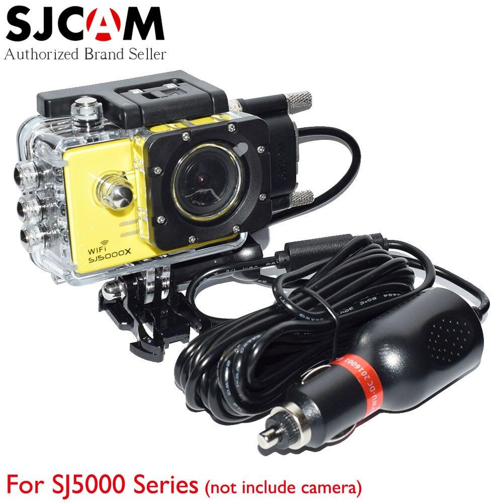 SJCAM SJ5000 Series Motorcycle Waterproof Case Motorbike Charger for SJ CAM 5000 SJ5000X SJ5000WIFI SJ5000+ Sport Action Camera