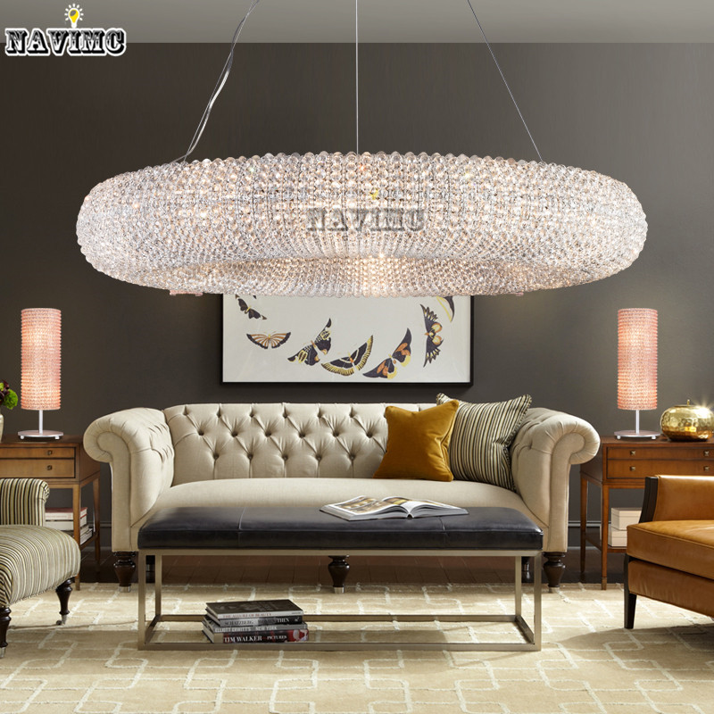 Hotel Foyer Lighting Uk : Luxury crystal pendant light for hotel foyer vanity