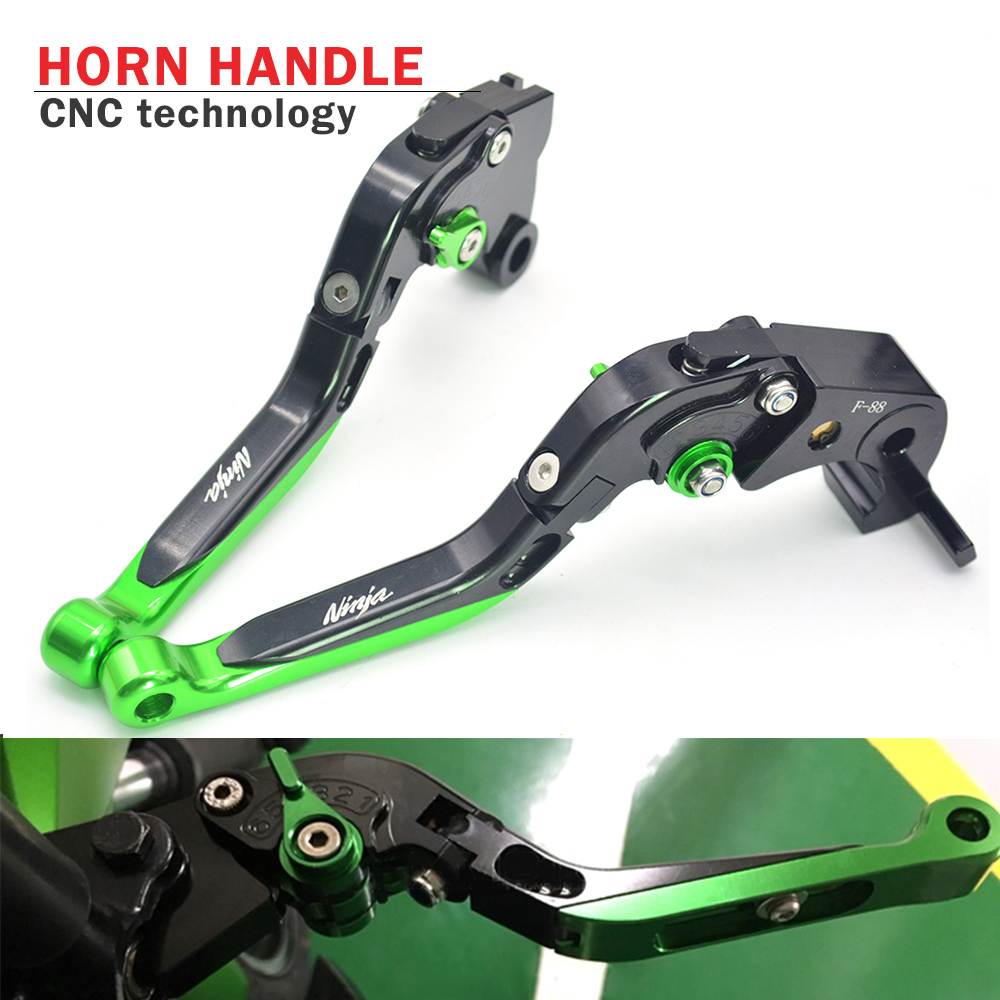 CNC Motorcycle Brakes Clutch Levers Adjustable Folding Extendable For KAWASAKI Ninja ZX10R ZX 10R 2006 - 2015 ZX14R 2006- 2016