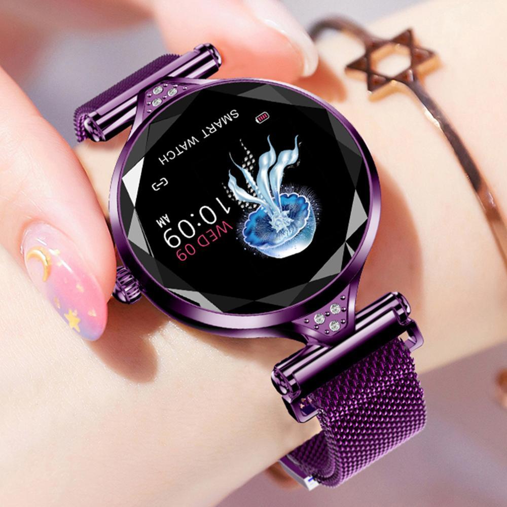 696 H1 Femmes Montre Smart Watch Bande de Fréquence Cardiaque Moniteur Fitness Bracelet Sport Activité Tracker Smartwatch pour IOS/Android Téléphones