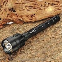 TrustFire 3T6 3800 люмен 3 х CREE xm-l T6 5-Режим светодиодный фонарик водонепроницаемый фонарик лампа + Выдвижная трубка, бесплатная доставка