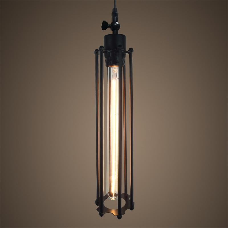 Retro E27 φώτα κρεμαστό φλάουτο μινιμαλιστική βορειοαμερικανική βιομηχανική λάμπα κρεμαστό κόσμημα ανέμου για εστιατόριο διακόσμηση τραπεζαρίας