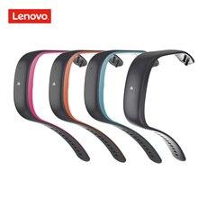 Lenovo HW02 умный Браслет Bluetooth 4.2 сердечного ритма монитор Шагомер фитнес-трекер совместим с Android IOS телефонов