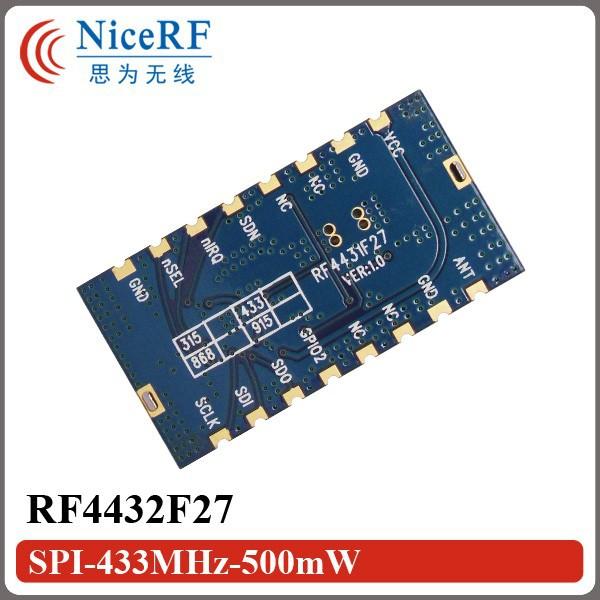 RF4432F27-SPI-433MHz-500mW-2