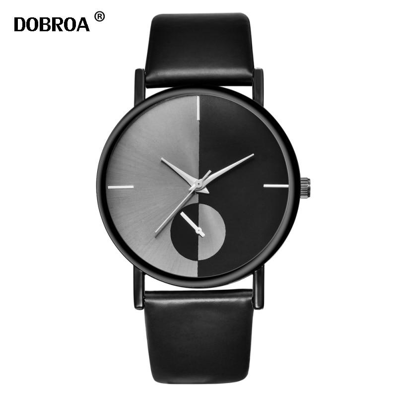 Ladies Watch Relogio Feminino Unique Yin Yang Mesh Belt Fashion Leather Quartz Wristwatch Men Women Casual Simple Clock Watches