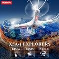 Original SYMA 4CH Eixo X5A-1 Drone Com HD Camera inquebrável Quadcopter Zangão helicóptero DO RC de alta qualidade crianças brinquedos de presente