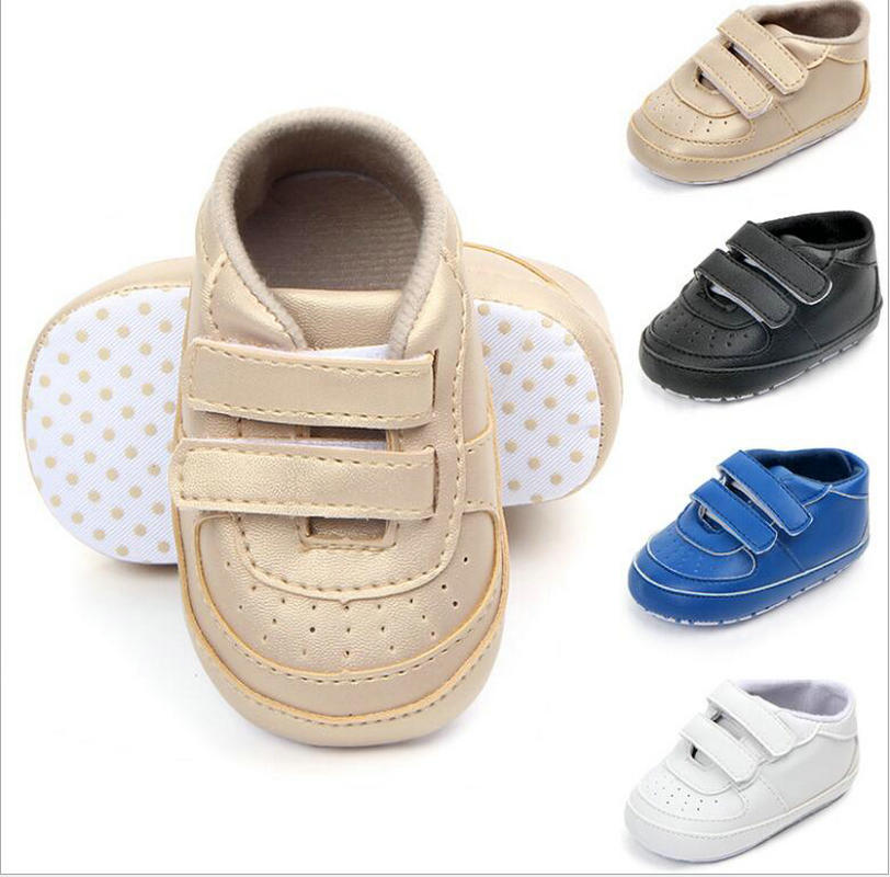 New Canvas Classic Sports Sneakers Newborn Baby Boys Girls First Walkers Shoes Infant Toddler Soft Soled  Anti-slip Baby  Shoes