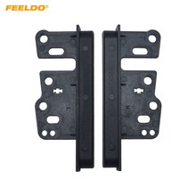 FEELDO 2Din Radio Stereo Beugel Voor Toyota Panel Fascia Montage Trim Kit Refit # AM1662(China)