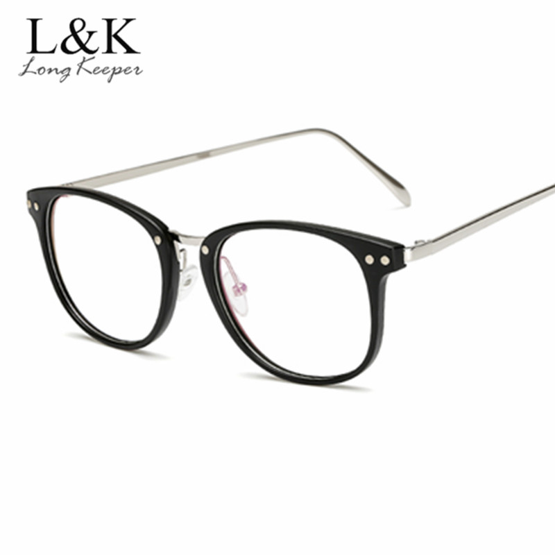 Back To Search Resultsapparel Accessories Longkeeper 2019 Brand Optical Glasses Black Frame Women Men Top Quality Computer Eyeglasses Round Womens Transparent Spectacle Men's Eyewear Frames