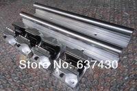 2XTBR30 1300mm 30 MM TAM DESTEKLI LINEER RAY MILI + 4 TBR30UU Yönlendirici Rulman|rail electrical|bearing redrail fitting -