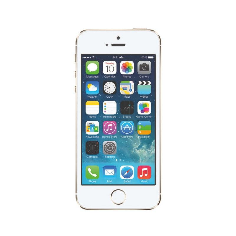 Оригинальный iPhone 5S | Универсальный Apple iPhone 16 ГБ разблокирован мини смартфонов 4 г LTE мобильный телефон Золото Цвет для подруга подарки