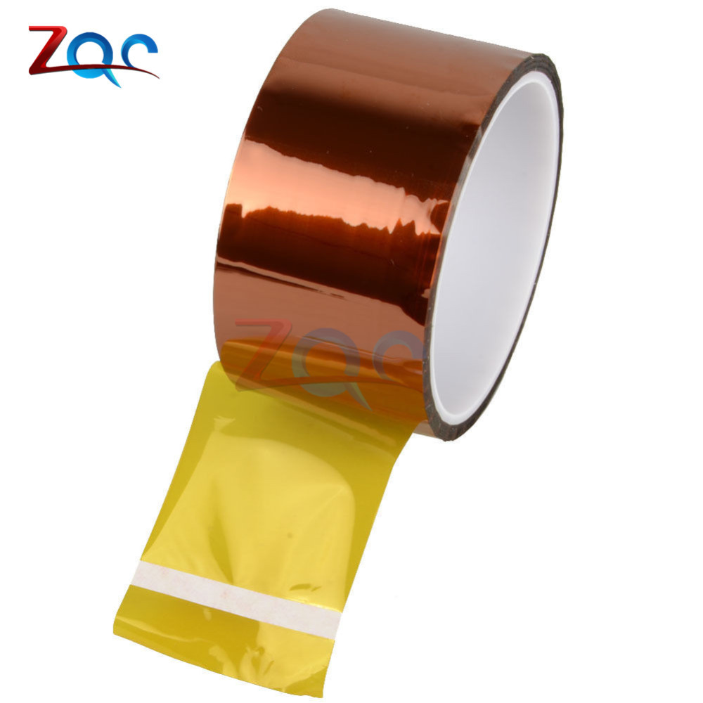 50mm 5cm x 30M Tape Sticky High Temperature Heat Resistant Polyimide