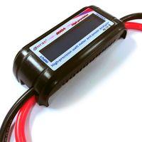HTRC 60V 200A High Precision Watt Meter Voltage Amp Meter Power 8 Gauge Wire Analyzer