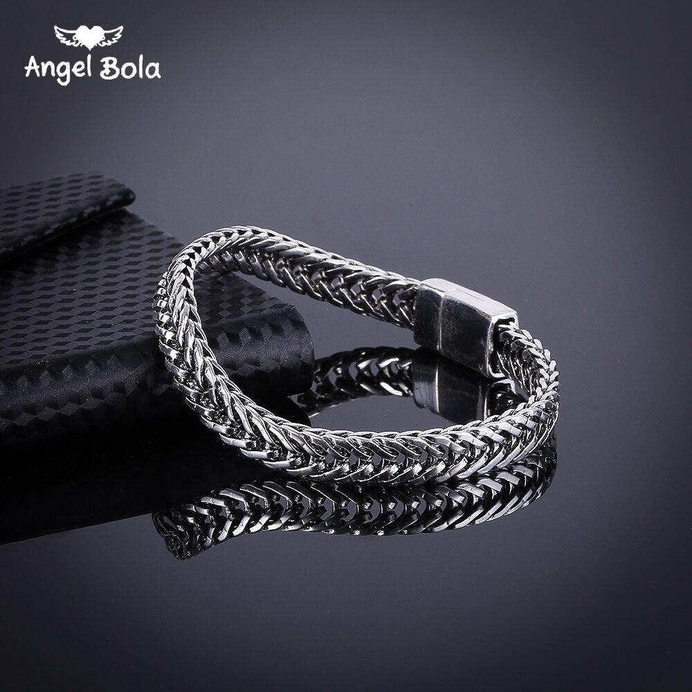Accessory Women Bangle Brazalet High Quality Ancient Silver Mens Buddha Bracelets Jewelry Wristbands Band Free Shipping B1019-13