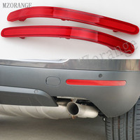 MZORANGE Car Styling Rear Bumper Reflector Lamps Overhead Decorative Lights Red For Volkswagen For VW Touareg