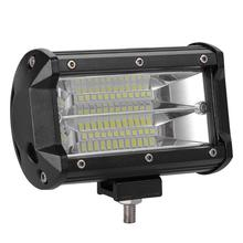 VODOOL 240W 5inch Off-road Vehicle LED Working Lamp for Car Headlight Bulbs Fog Driving  Ultra-high intensity