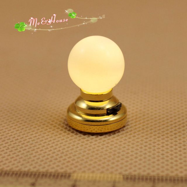 Led Ceiling Light Globe: 1:12 Doll House Kit Accessories Miniatures Globe Light