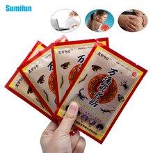 Sumifun 16 Uds parche para alivio del dolor relajación del pie pierna mano Músculo de la espalda hombro alivio del dolor yesos D1481