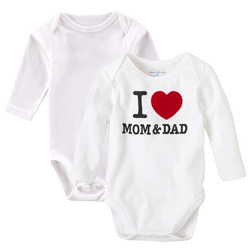 2 шт./лот маленьких Корректирующие боди для женщин Спортивный костюм для малышей с длинным рукавом белый Одежда для новорожденных унисекс из хлопка детская одежда осень 0-12 м