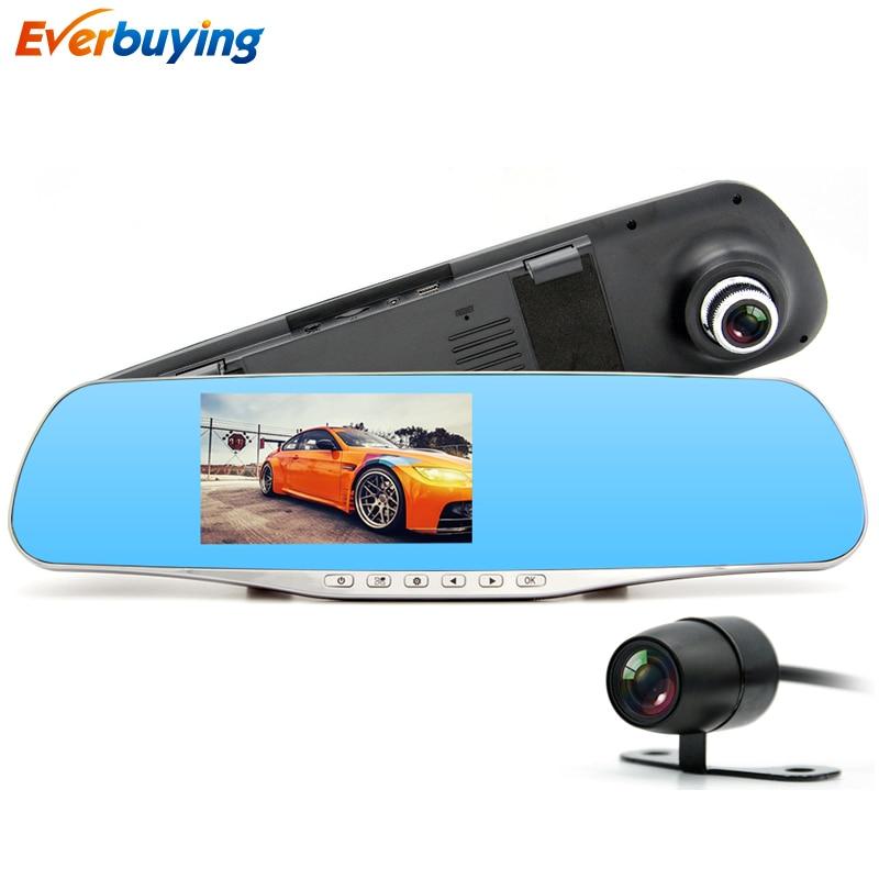 New Dual Lens Car DVR Camera mirror FHD 1080P Video Recorder Night vision Dash font b