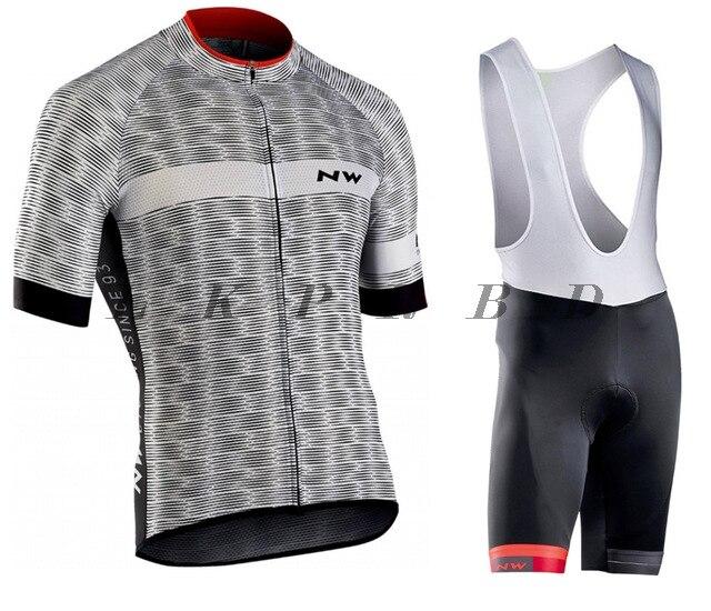 Northwave 2019 Radfahren jersey Sets Sommer Fahrrad Kleidung Maillot Ropa Ciclismo MTB Bike Kleidung Sportswear Anzug Radfahren in Cycling Sets from Sports Entertainment