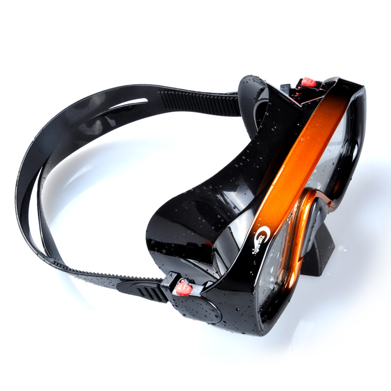 Profesjonalna silikonowa maska nurkowa do nurkowania Zestaw do - Sporty wodne - Zdjęcie 4