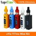 100% original joyetech evic vtwo mini vaping kit de cigarrillo electrónico con Cubis Pro Vs eVic-VTwo Mini Caja Mod NO batería