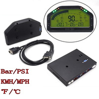 Waterproof D0908 LED Dash Race Display Kits Bar/PSI KMH/MPH 9000RPM Universal For 12V Professional Racing Car Full Sensor