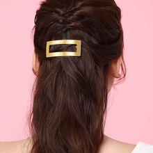 Металлическая заколка для волос chimera простая Золотая АРКА