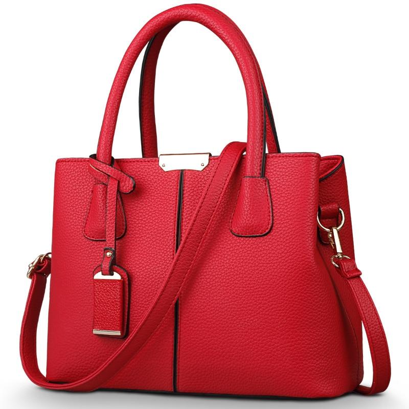 Bolsas Femininas Women Leather Handbags Tote Bag Female Shoulder Bags Crossbody Bag Sac A Main Women Messenger Bags