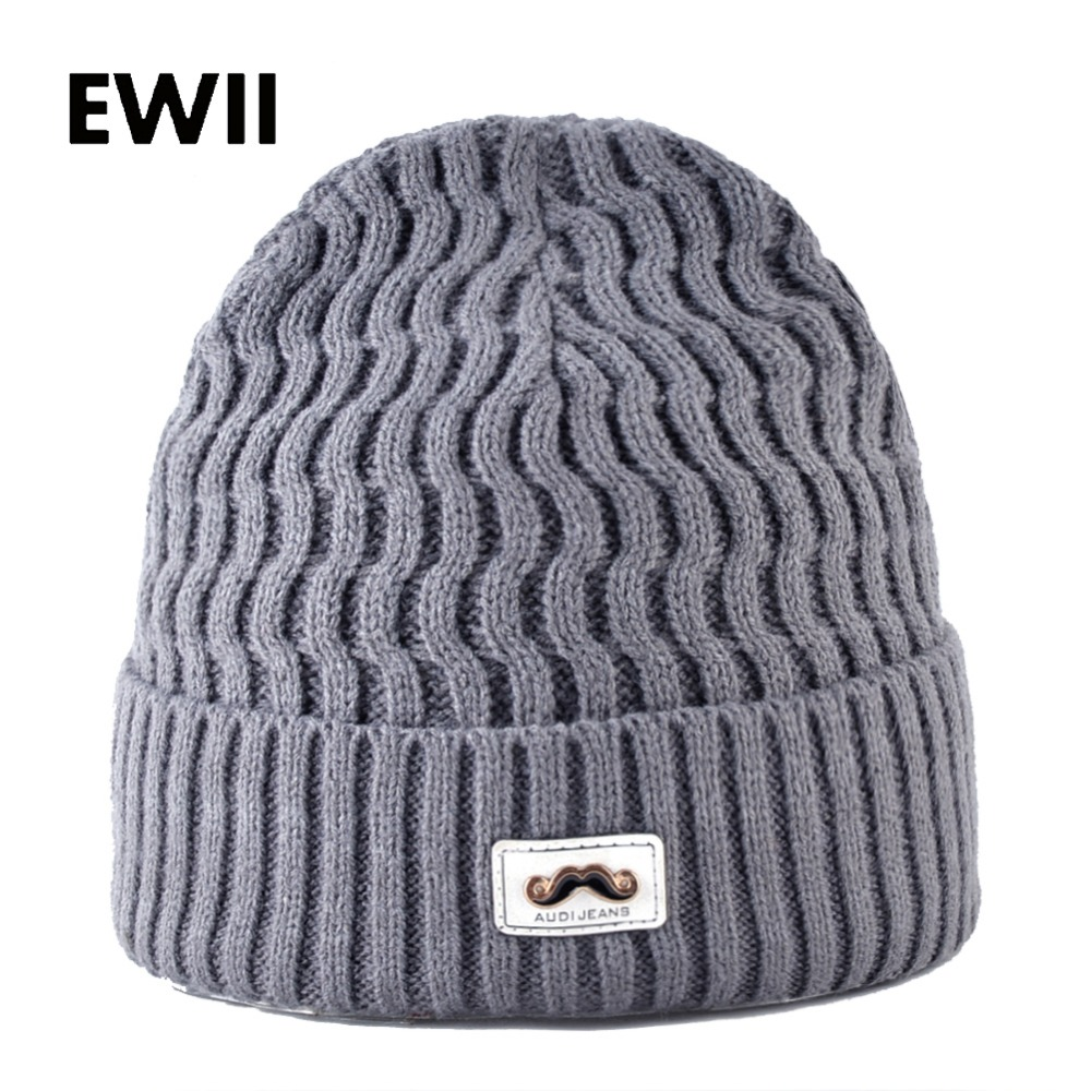 2017 Novelty warm beanie hats for men knitted winter hat skullies men beanies caps women knit cap bonnet gorros casquette hight quality winter beanies women plain warm soft beanie skull knit cap hats solid color hat for men knitted touca gorro caps