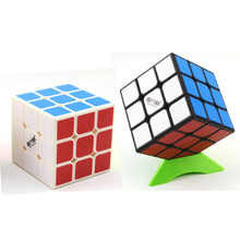 QiYi mofangge Magic Cube 3x3x3 6 8cm Puzzle Competition Speed Cube Cubo Magico Toys For Children