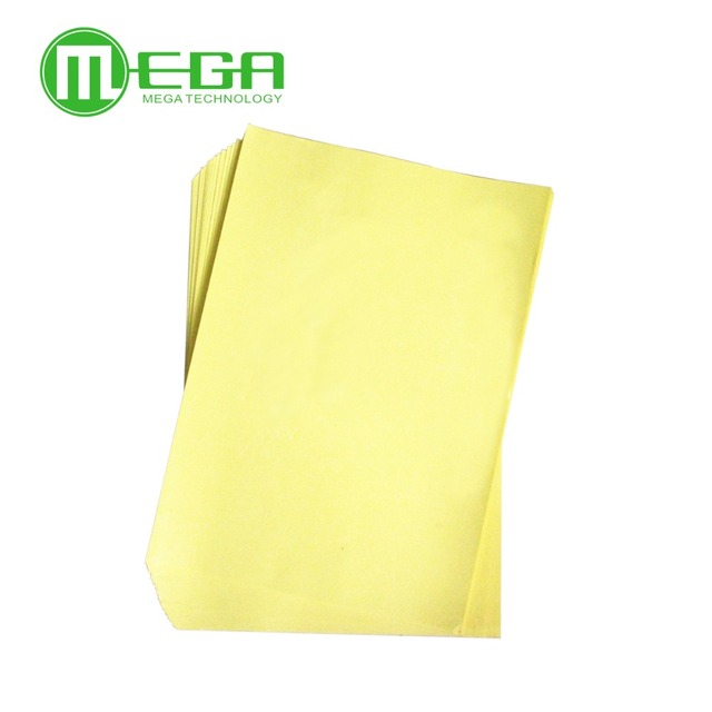 100pcs/Bag 600g PCB circuit board thermal transfer paper, transfer paper A4 size hot sell