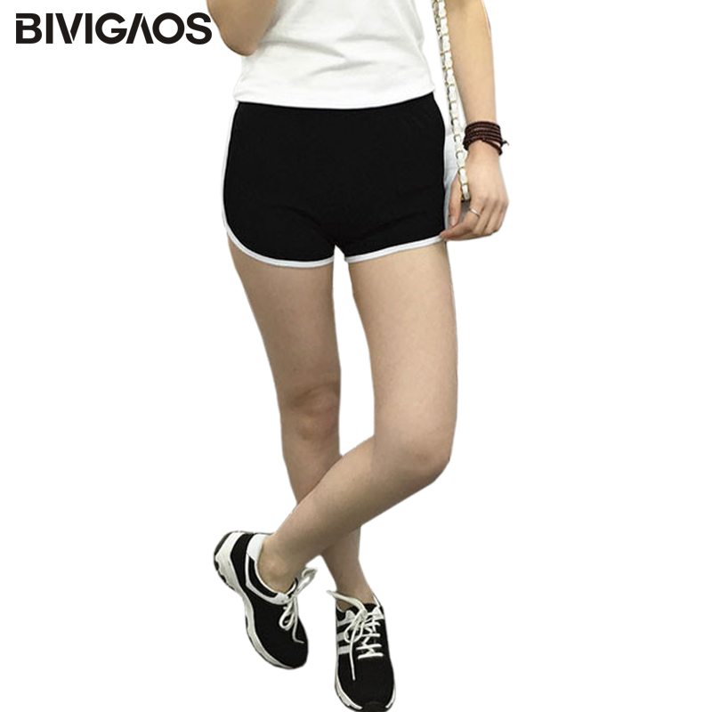 BIVIGAOS Euramerican Womens Summer Classic Cotton Short Workout Home Shorts Casual Hot Short Sexy Shorts Hoppants For Women