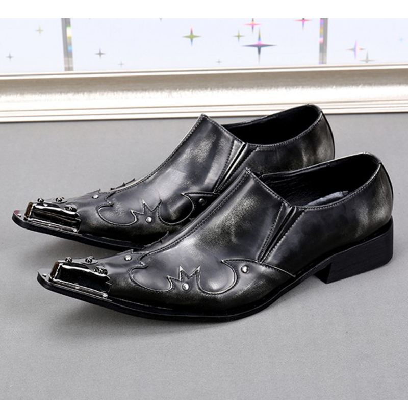 New british style mens genuine leather black shoes slip-on loafers pointed toe dress shoes men luxury man formal business shoes cunddio new product low to help bullock restoring ancient ways genuine leather british the stylist pointed men s shoes 38 46