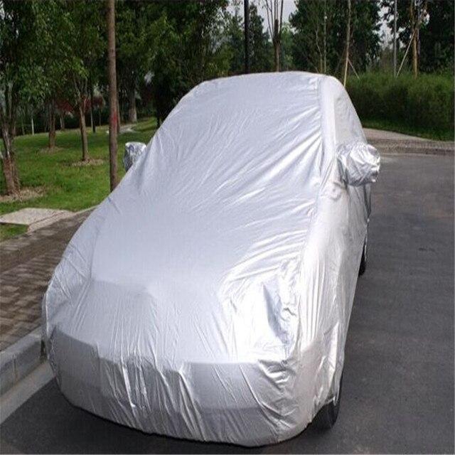 Full Body Car Covers Waterproof Car Umbrella Indoor Outdoor Dustproof Sunshade UV Snow Sun Protection Size S M L XL XXL