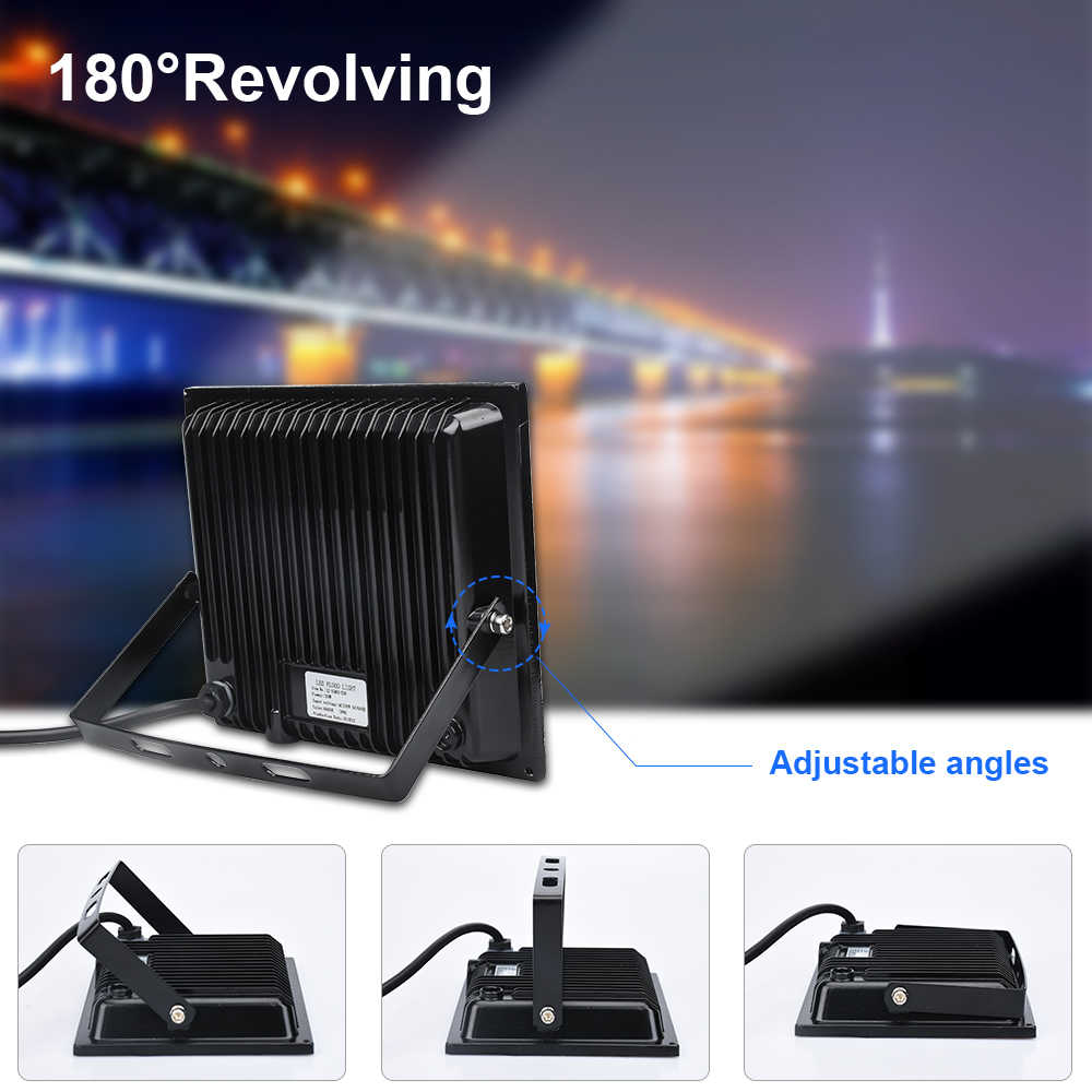 Flood Light Led 100W 10W 50W 20W 30W AC190-265V Waterproof IP66 Led Floodlight Spotlight Led Street Outdoor Lighting LED Lamp