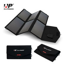 ALLPOWERS Portable Solar Panel Solar Battery 5V 12V 18V Multi Use for iPhone Samsung iPad 12V Car Battery 18~19V Laptops etc.