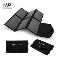 ALLPOWERS 36W Solar Panel Battery Pack 5V 18V Portable Solar Bag For IPhone Samsung IPad Car