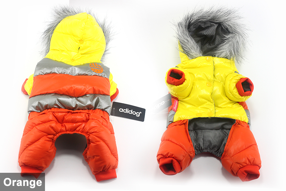 adidog New Winter Pet dog Clothes for Small Medium Dog Pet clothing Coat hoodies Waterproof Super Warm Jacket Snow chihuahua for Winter 404