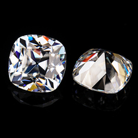 Top Quality Antique Cushion Old Mine Cut 10x10mm EF Color Lab Grown Moissanites Diamonds.