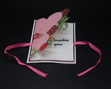 Pink Love Metal Cutting Dies Scrapbooking Embossing DIY Decorative Cards Cut Stencils