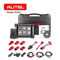 Autel MaxiSys MS908 OBD2 автомобильной Автомобильный сканер для диагностики инструмент VCI J2534 программатор ЭБУ программист код транспортного средств
