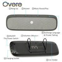 Overe 1Set Bluetooth Car Kit Speakerphone Wireless Speaker Phone For Renault Megane 3 Duster Captur Chevrolet Cruze Aveo Captiva