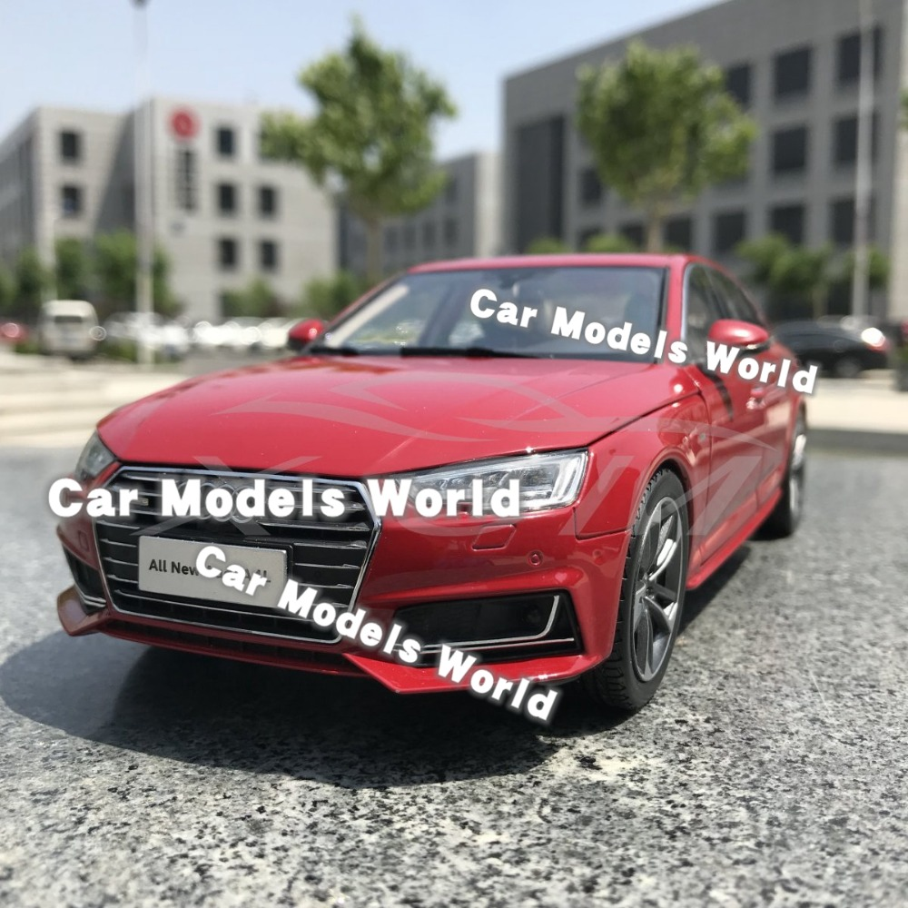 Diecast Car Model for All New A4L 2017 1 18 Red SMALL GIFT