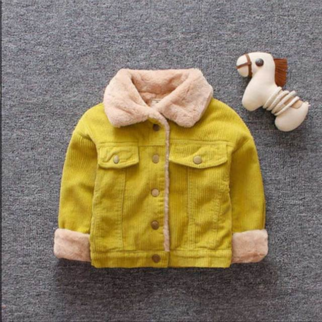 Winter Lamb Wool Coat Kids...