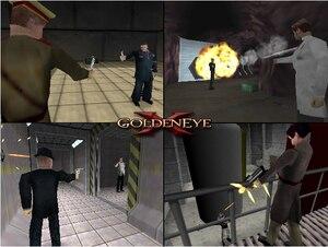 Image 3 - 64bit oyun ** GoldenEye X 5D Hack Mükemmel Koyu (Kesmek Sürümü!! ABD Versiyonu!!)